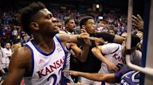Vicious Kansas Basketball Brawl Could Have Turned Uglier In One Moment