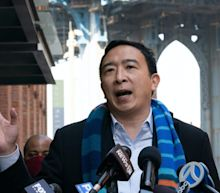 Republicans like Ted Cruz and Stephen Miller are cheering on Andrew Yang after he posted a pro-Israel tweet amid violent clashes with Palestinians