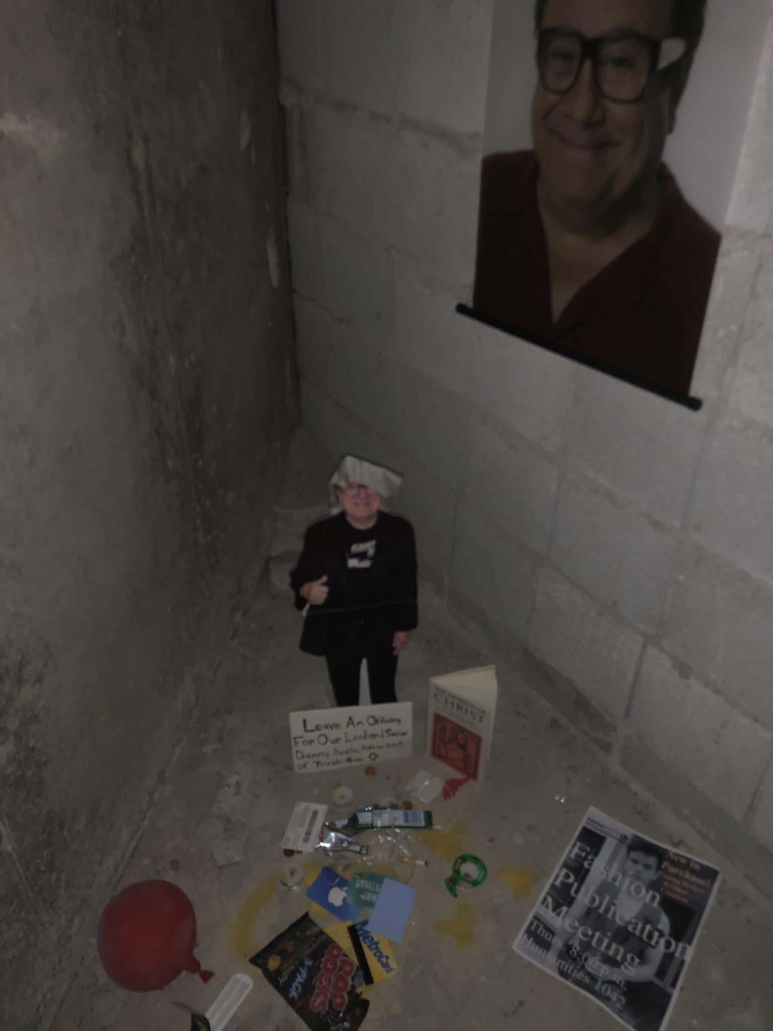 Story Emerges Behind Bathroom Shrine Of Danny Devito