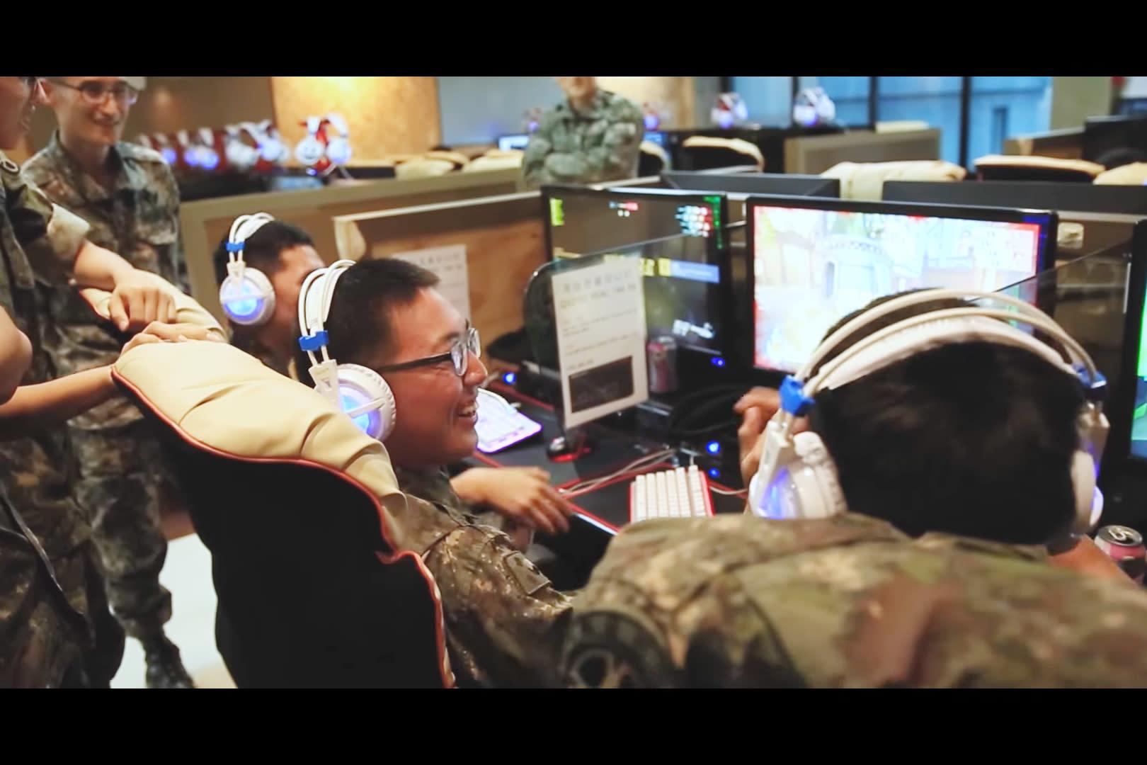 當兵還能玩電競!南韓《鬥陣特攻》士兵賽 冠軍放假15天.