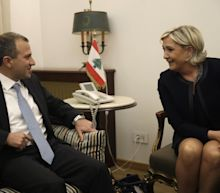 French far-right chief calls Assad solution to Syria crisis