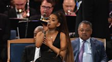 'I feel personally victimized by Ariana Grande's attire': Ariana Grande wore a short dress to Aretha Franklin's funeral, and people are not impressed