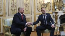 Report: Trump took £570k worth of art from US ambassador's residence in France