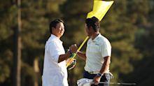Hideki Matsuyama's caddy paid respect to Augusta National with beautiful gesture