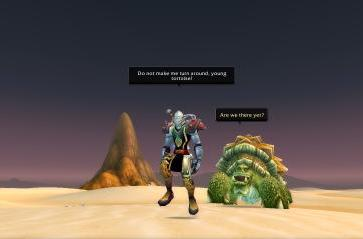 Around Azeroth: Are we there yet?