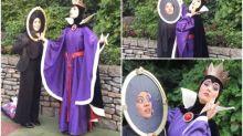 【新片速報】日本迪士尼奇遇Twitter熱傳  當皇后遇上魔鏡cosplayer