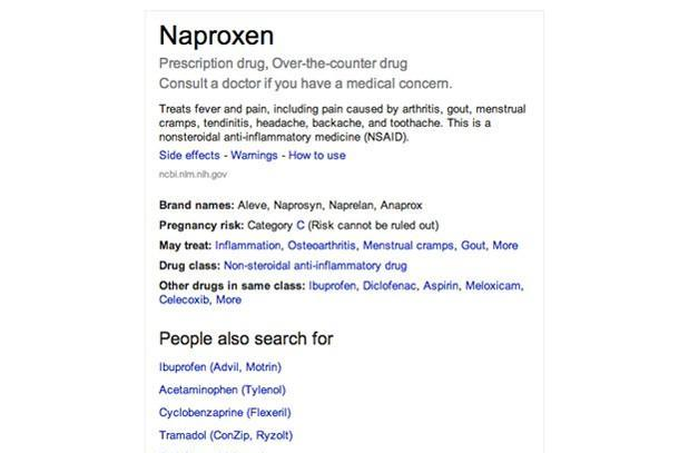 Google adds medication to the Knowledge Graph, might ease our minds through search