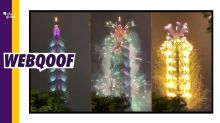Video of Fireworks From Taiwan Passed Off As 'Tokyo 2020 Olympics'