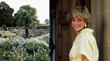 Why the Princess Diana garden is all white