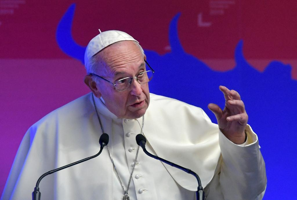 "Pope Francis has warned anyone expecting a quick fix to sex abuse by clerics that ""the problem of abuse will continue"" (AFP Photo/Tiziana FABI)"
