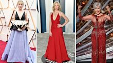 Recycled dresses: All the celebrities following 2020's hottest awards trend