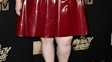 Chrissy Metz responds to critics of her latex dress: 'The Kardashians do it; why can't I?'