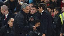 Chelsea's Conte defends 'passion' after Mourinho exchange