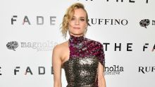 Diane Kruger Is Jumping on the Sequins Trend Early