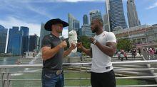 MMA star 'Cowboy' Cerrone eyes record in Singapore