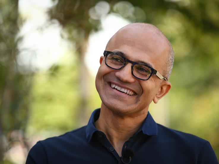 Satya Nadella on the Meaning of Work