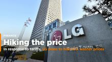 LG Elec plans to hike U.S. washer prices by 4-8 pct after tariffs