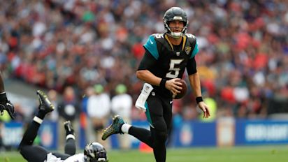 Jaguars crush Ravens in London