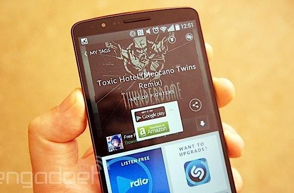 Shazam now lets you buy or stream tagged music via Google Play