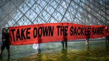 Louvre museum removes Sackler name after opioid protests