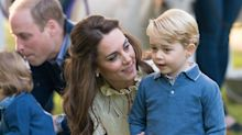 Kate wears Zara dress for day out with children