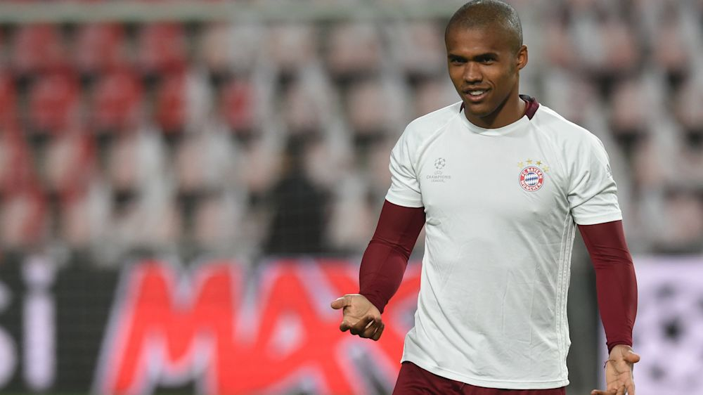 Douglas Costa bei Bayern zurück im Training