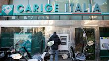 Italian Finance Chief Resists Populists' Goal to Seize Carige