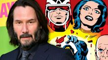 Marvel 'in talks' with Keanu Reeves to join Angelina Jolie-led 'The Eternals' movie