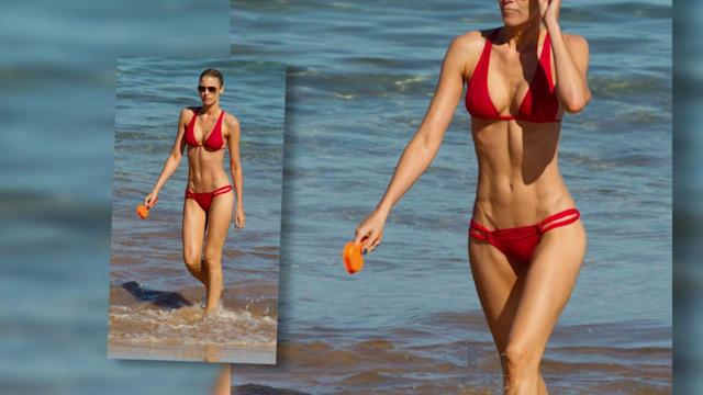 Paige Butcher Scorches on Hawaii Beach