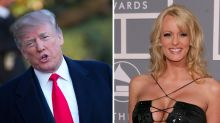 Donald Trump claims porn star Stormy Daniels is 'not his type'