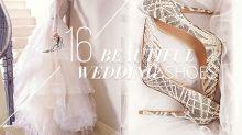 除了完美的婚紗,婚鞋也要用心挑選!這裡有 16 雙婚鞋推薦給你!