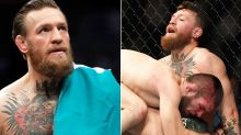 Conor McGregor's flimsy excuse for infamous loss to Khabib