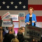Elizabeth Warren rose to 2nd place in a new national poll after the Las Vegas debate