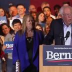 Sanders addresses supporters after winning Nevada Democratic caucuses