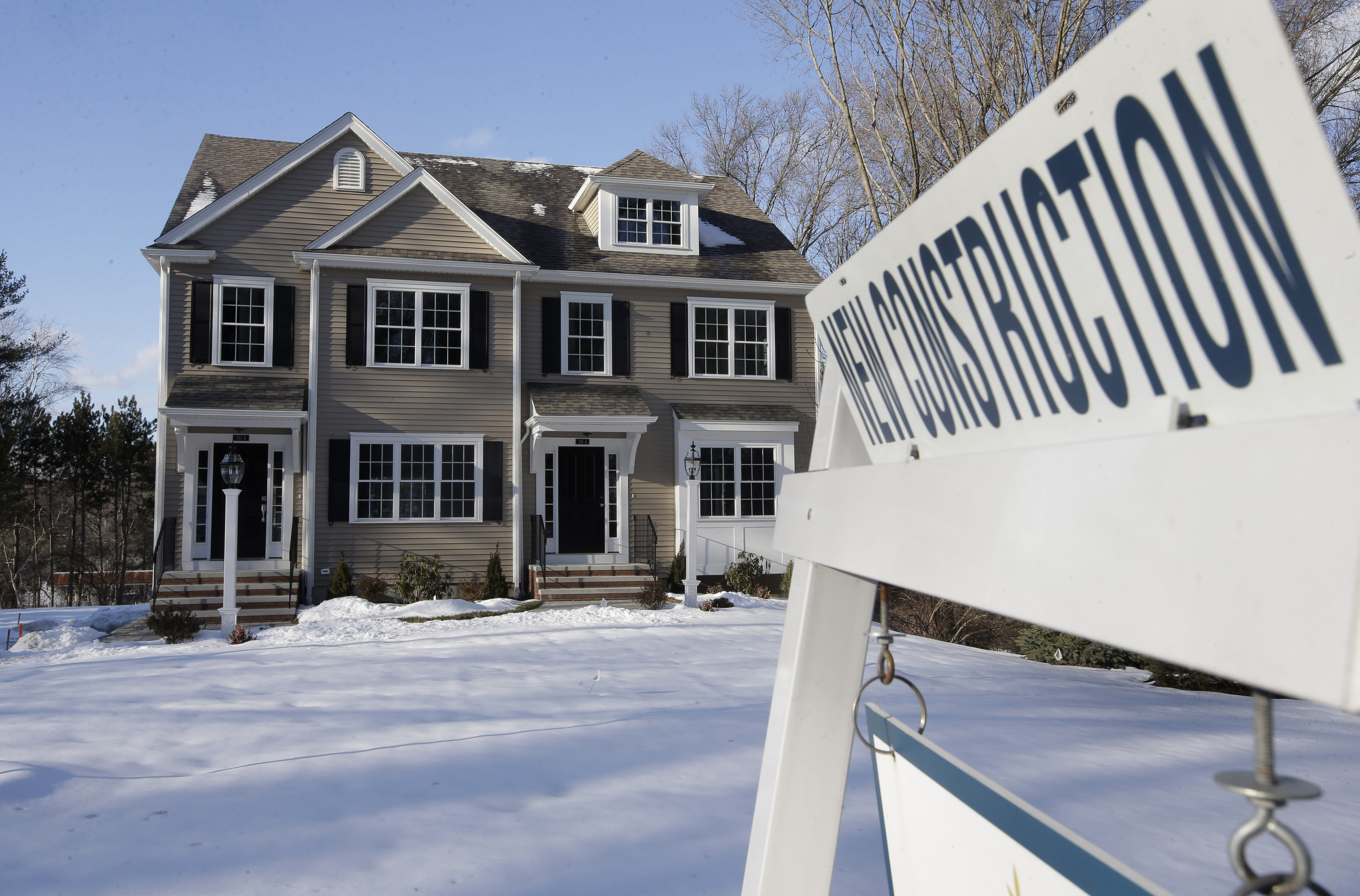 US new-home sales climbed 4.5% in March