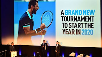 Men's tennis: ATP Cup to debut in 2020