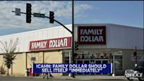 "Icahn: Family Dollar should sell itself ""immediately"""