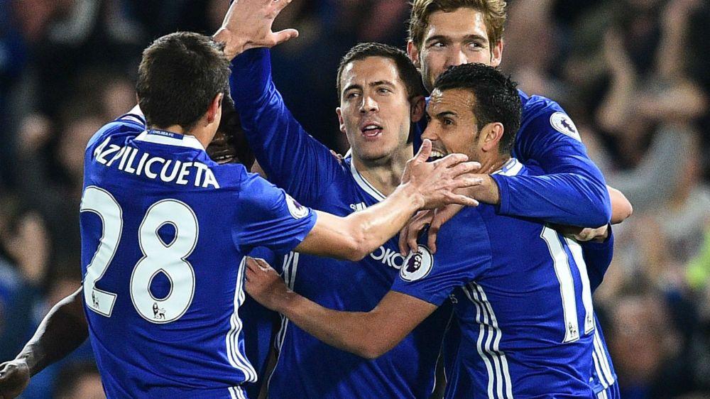 Chelsea-Manchester City 2-1: Doppio Hazard, Conte batte Guardiola