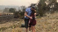 California wildfire evacuees return home to find devastation