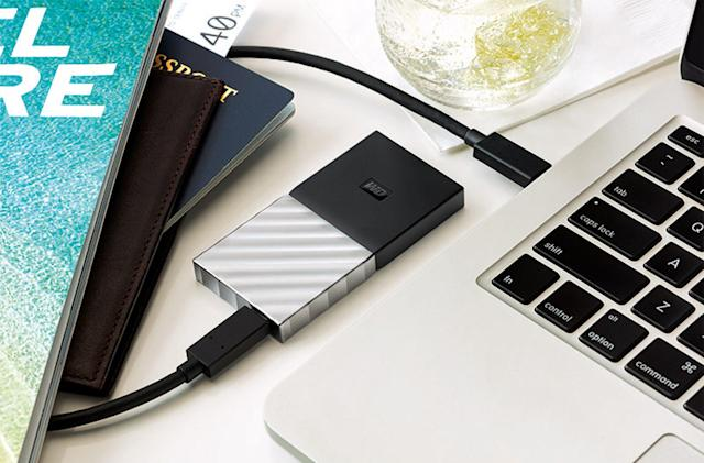 Western Digital unveils its first portable SSD