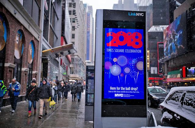 New York City's WiFi kiosks have over 5 million users