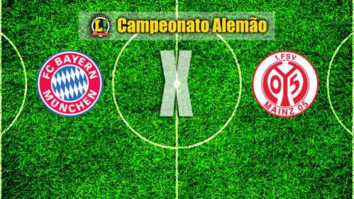 Após eliminação, Bayern enfrenta o Mainz para ficar mais perto do título