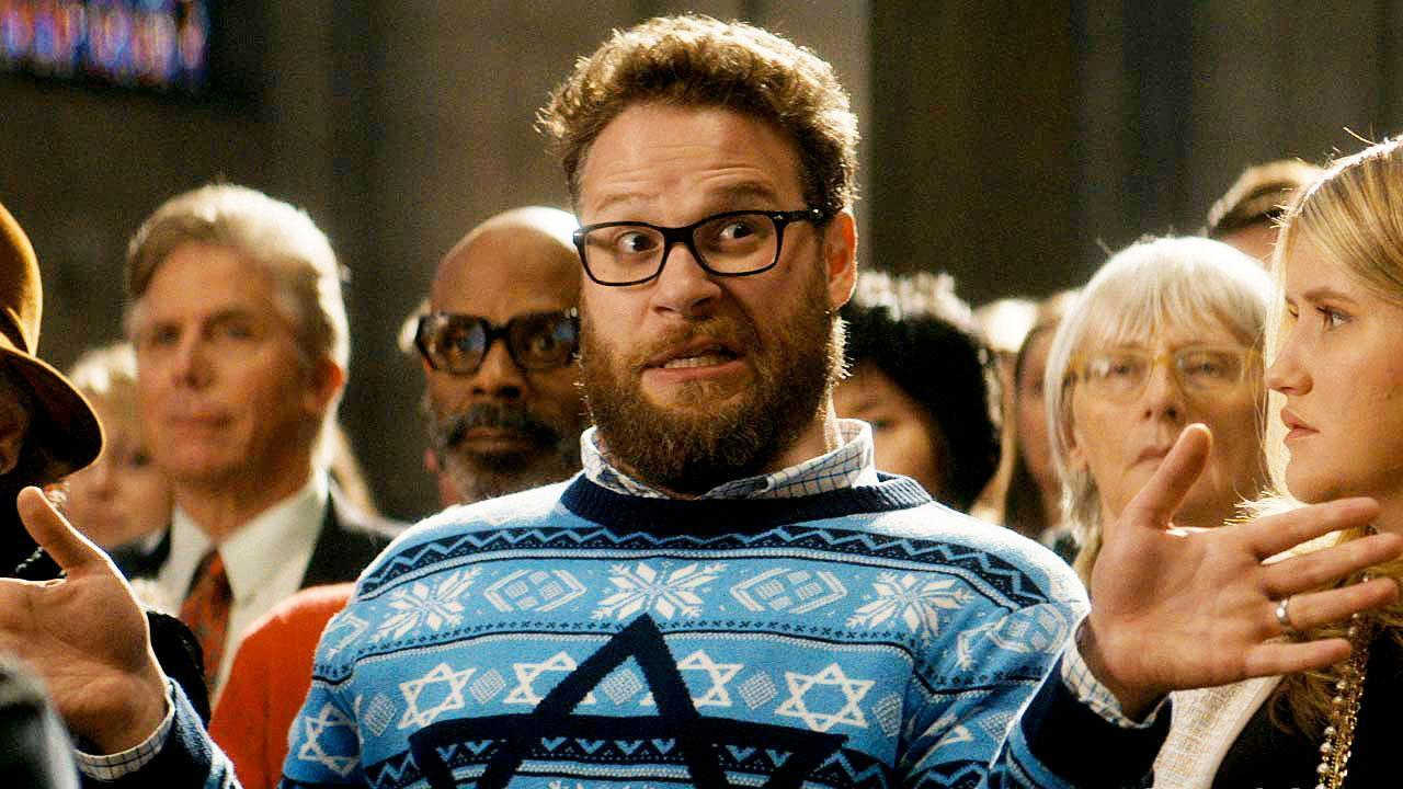 0864856e701a7b7cdb750c04132fab54dfd00221 seth rogen spreads some holiday hurl in 'the night before' [video]