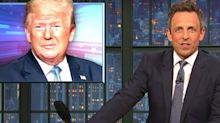 Seth Meyers Nails How Trump 'Wears Us Down' With A Zombie Metaphor
