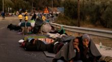 Germany, France to take in minors from destroyed Greek camp: Merkel