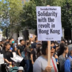 London Protesters March in 'Solidarity With Hong Kong'