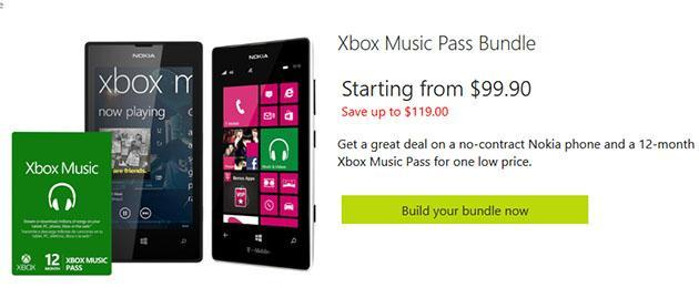 Microsoft offers free Lumia 520 handset with an Xbox Music pass