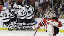 Kings keep rolling, beat Devils 2-1 in overtime