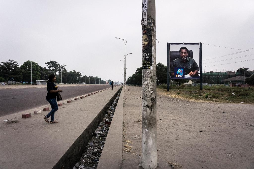 The 'dead city' action in Kinshasa Tuesday had a noticeable impact on businesses and on the city's traffic (AFP Photo/JOHN WESSELS)
