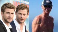 'Is that your dad?' Hemsworth fans stunned by stars' 'ripped' dad
